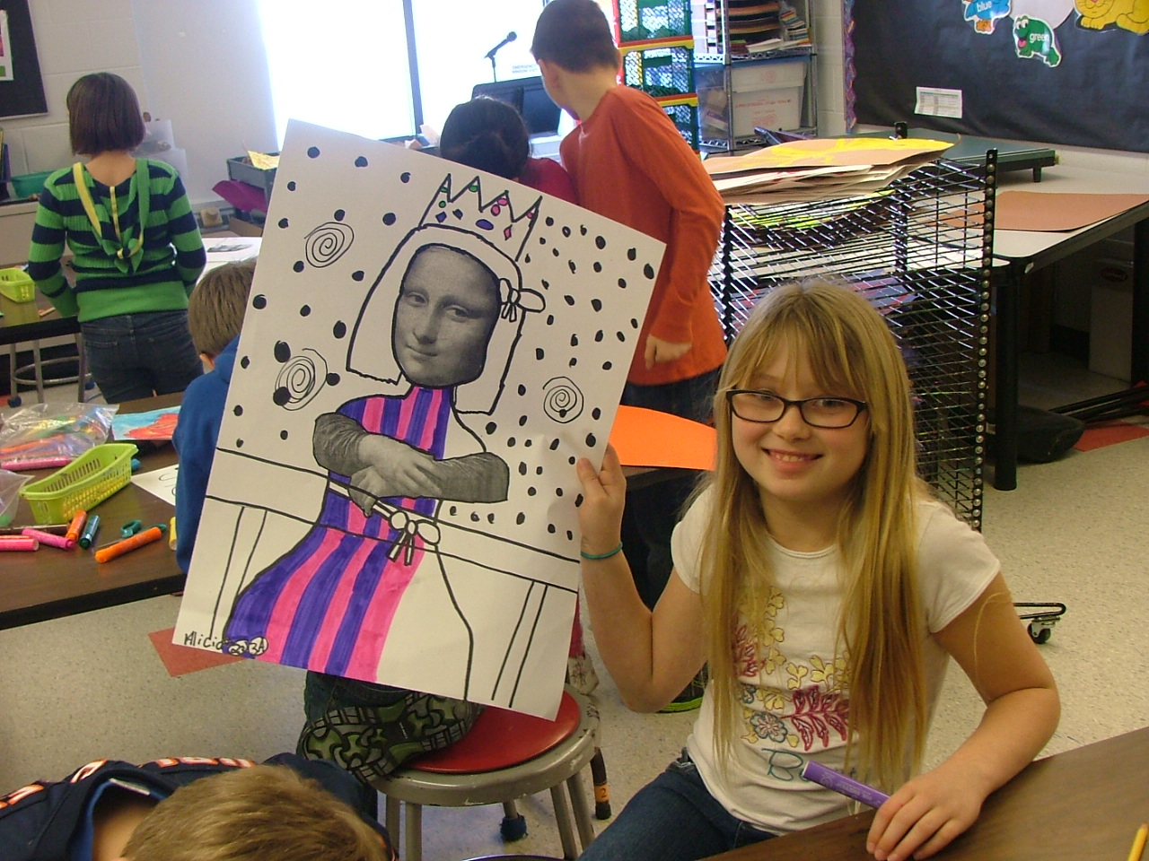 Art With Mrs Seitz Mona Lisa Paro S
