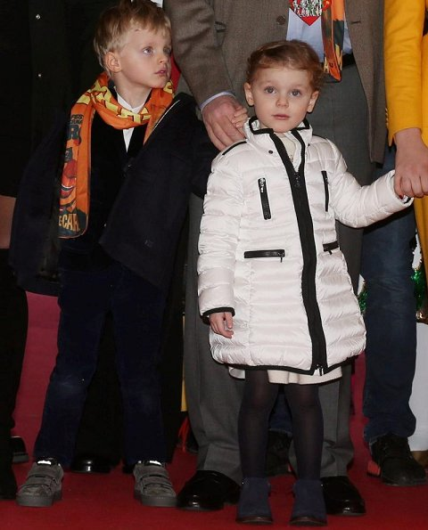Prince Albert, Crown Prince Jacques, Princess Gabriella, Princess Stephanie, Camille Gottlieb and Pauline Ducruet