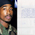 Tupac's handwritten letter sent from prison sells for over $170,000