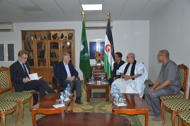 Le président de la République reçoit l'Envoyé personnel du SG de l'ONU pour le Sahara occidental