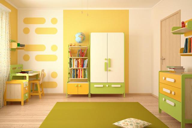 ремонт в комнате для детей