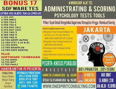 Pelatihan Psikologi 2018