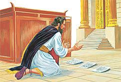ezequias ora a deus