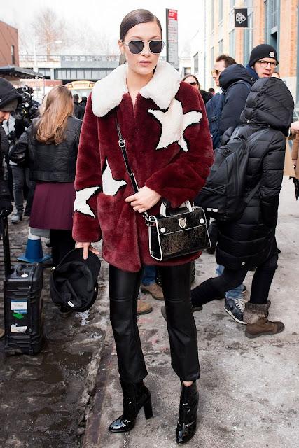 Street Style at New York Fashion Week Fall 2017: Bella Hadid