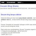 Blog Tanpa Sidebar