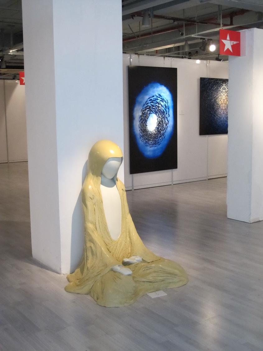 「對了。去上海吧!」Yes。Go Shanghai!: 上海多倫路的當代美術館:大陸的當代藝術比臺灣大膽多了!