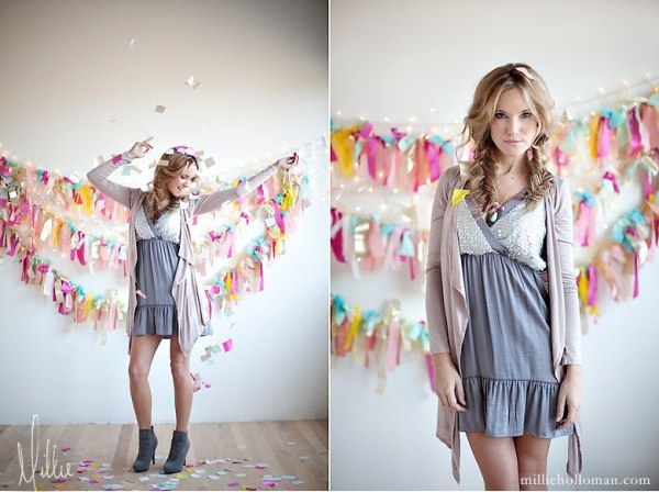 Pretty Ways To Use Paper Tassels in Your Celebrations - via BirdsParty.com