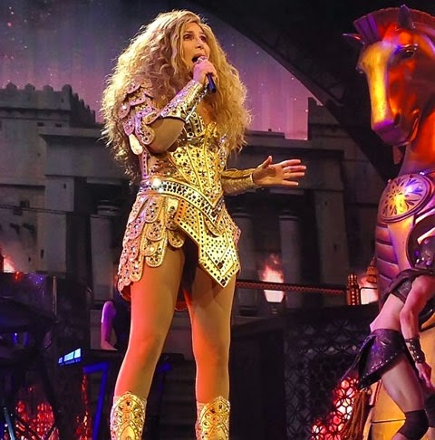 Cher performs her biggest hits at the MGM Grand Garden Arena in Las Vegas on the Dressed To Kill Tour 2014