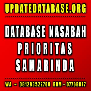 Jual Database Nasabah Samarinda