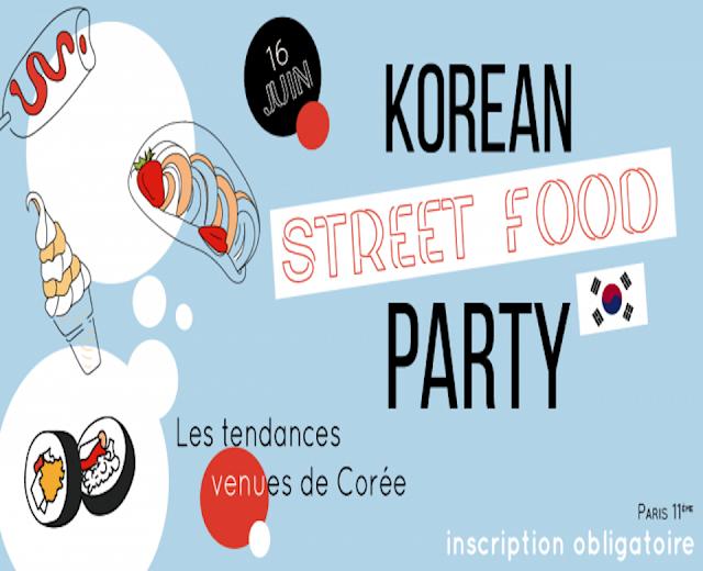 La Korean Street Food Party débarque à Paris !