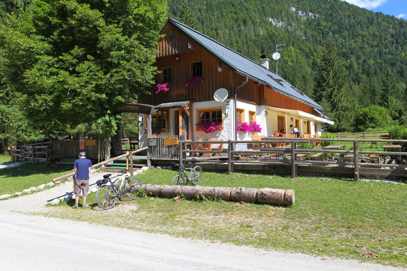 Rettenbach Alm - a great pit stop!