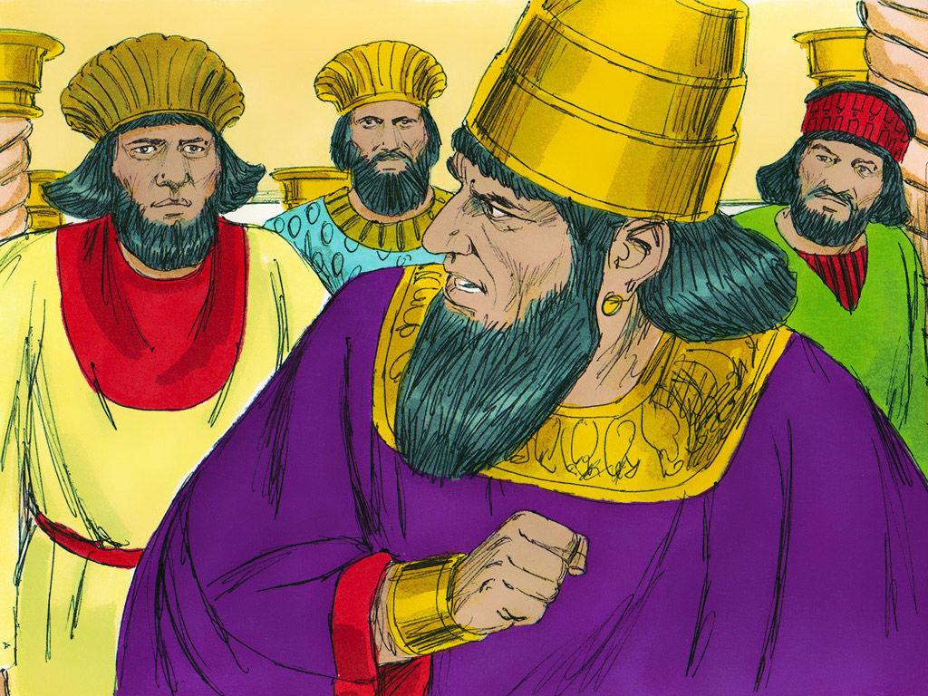 However, Queen Vashti refused to come before the king and his men