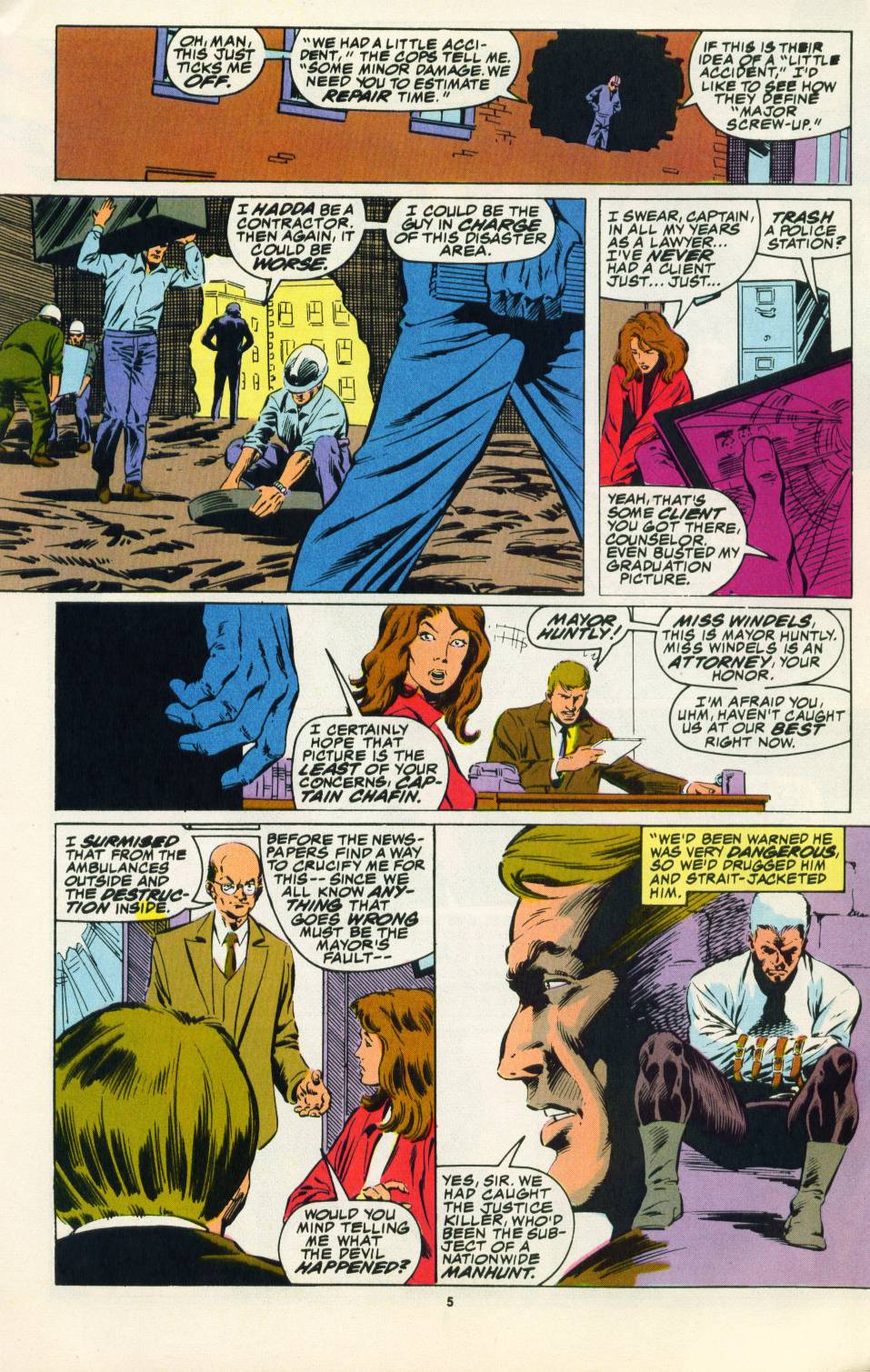 Read online Justice (1986) comic -  Issue #22 - 6
