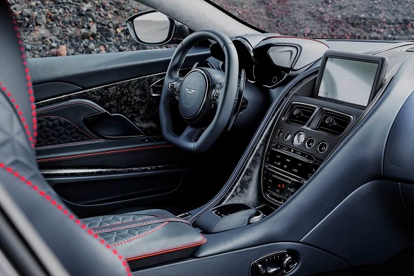 Interior Aston Martin DBS Superleggera