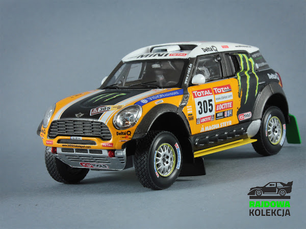 IXO RAM573 Mini All 4 Racing Rally Dakar 2012