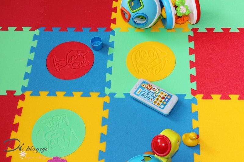 Piankowe puzzle dla niemowląt i dzieci starszych - recenzja
