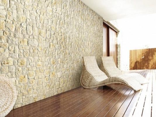 Pittura per pareti quali scegliere tipologie soluzioni prezzi edilizia in un click - Pietra decorativa interni ...