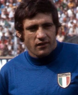 Giorgio Chinaglia made 14 appearances for  the Azzurri - Italy's national team