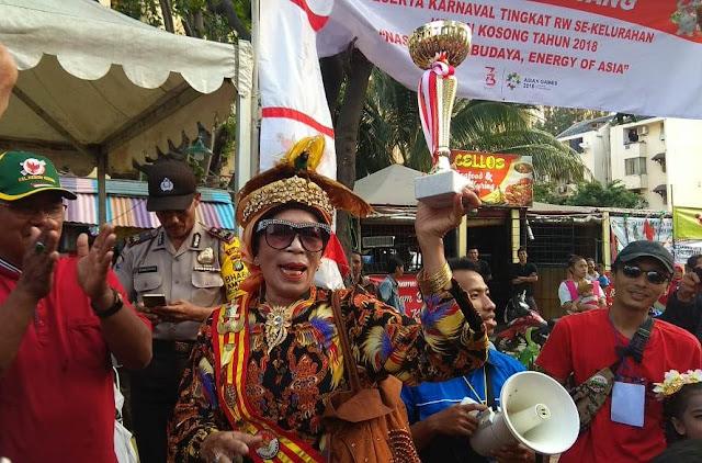 Ratu Kokoda Papua Peringati HUT Kemerdekaan RI Ke-73