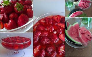 owocarka, truskawki, arbuz
