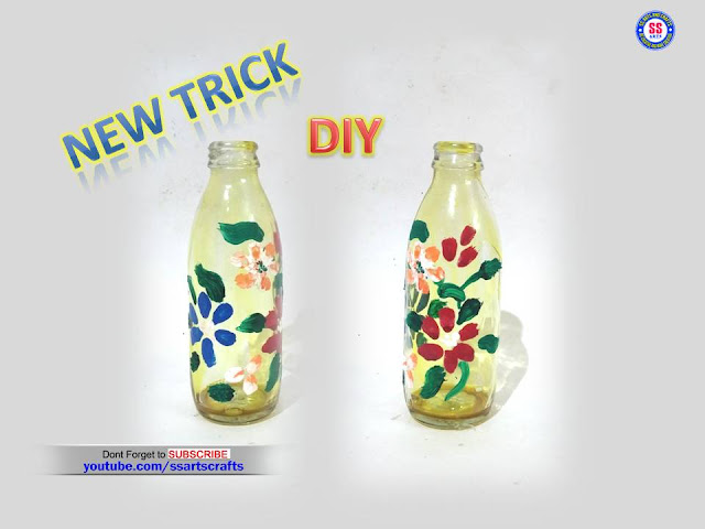 Here is Reused craft ideas,how to make empty drink bottle craft ideas,how to make empty glass bottle reuse idea,Glass bottle decoration ideas,How to decorated empty glass bottles at home,Drink bottle craft ideas,Tomato ketchup bottle craft ideas,How to make Empty glass bottle upcycle craft ideas,best out of waste from bottle crafts,How to make paint Glass bottle at home