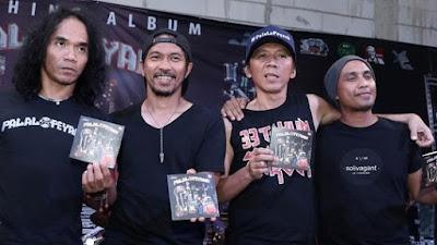Slank Rilis Album ke-22 'Palalopeyank' Kembalikan Kejayaan Musik Rock Era 80 - 90 an