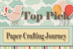 I was a top 3 pick in the Love challenge at papercrafting journey. Thank you ladies!