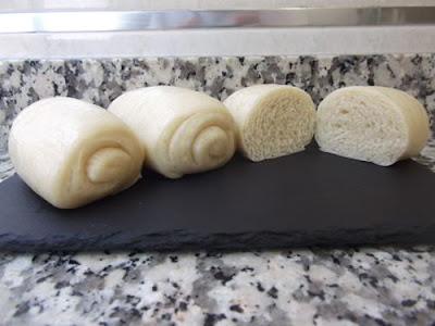 Pan chino al vapor o mantou