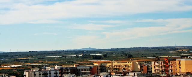 cielo, paese, case, abitazioni, Puglia, Castel del Monte