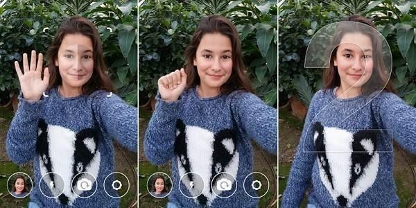 Foto Selfie Mudah Hanya dengan Melambaikan Tangan