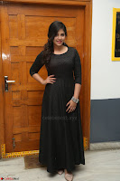 Anjali in Black Short Dress at Chitrangada Movie Success Meet ~  028.JPG