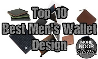 THE MEN : Top 10 Best Men's Wallet Design