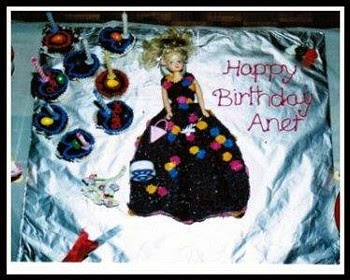 Ajantha Cakes/ Birthday Cake/Barbie Cake