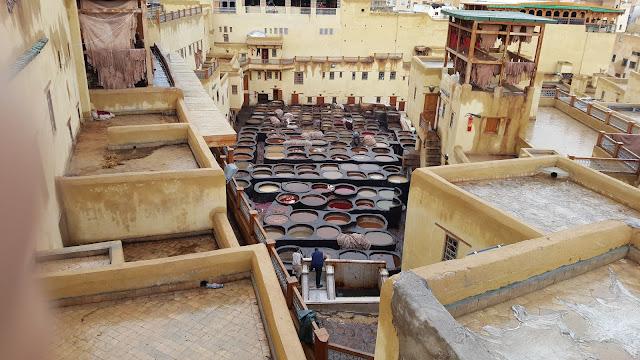 Curtiduría Chouara de Fez