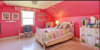 Desain Rumah Nuansa Pink Yang Cantik 7