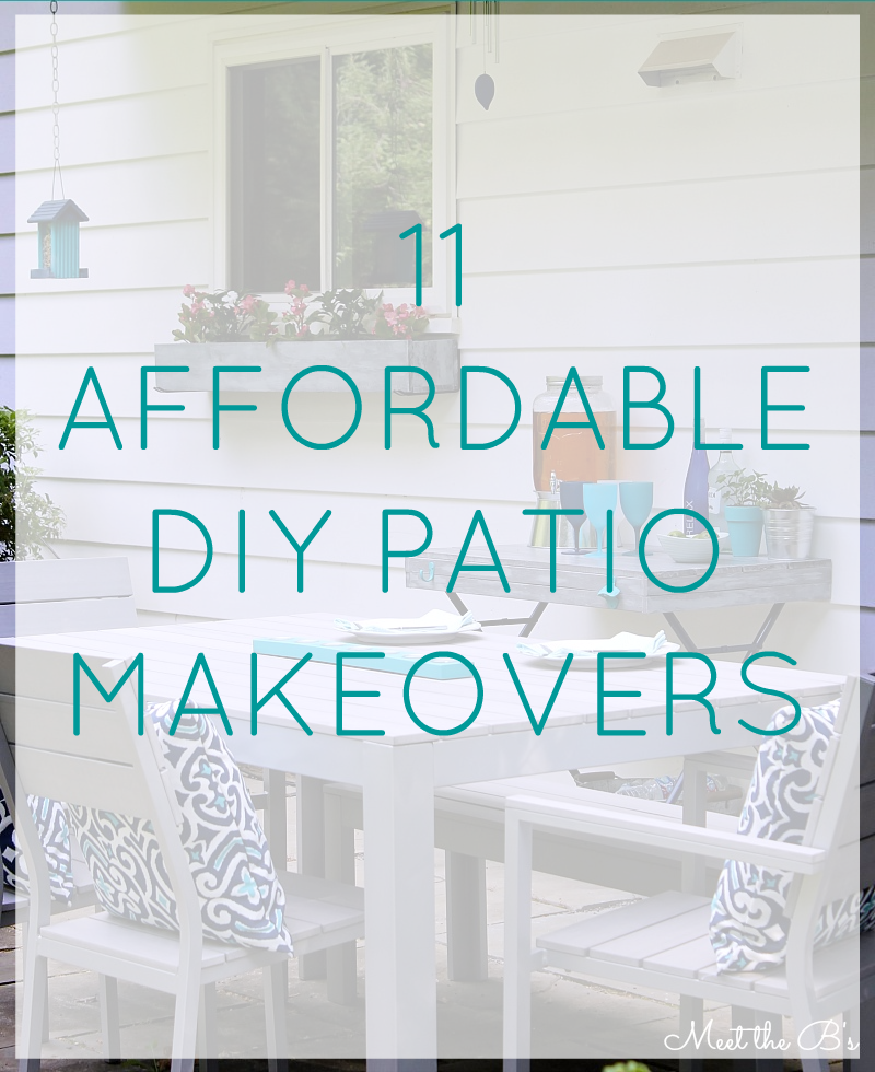 11 budget friendly patio makeovers the inspired hive for Deck makeover on a budget