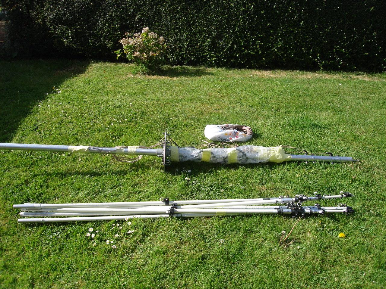 The Morse Sagas: Rebuilding the Homebrew Hexbeam Antenna