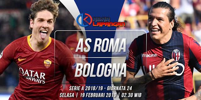 Prediksi Bola AS Roma vs Bologna Liga Italia