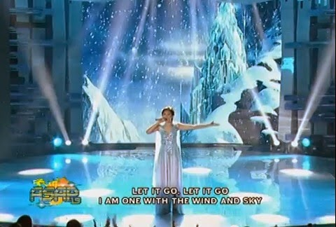 Sarah Geronimo let it go, Sarah sings let it go, Sarah let it go goes viral