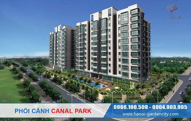 Chung cư Canal Park quận Long Biên, Chung cưa Hà Nội Garden City