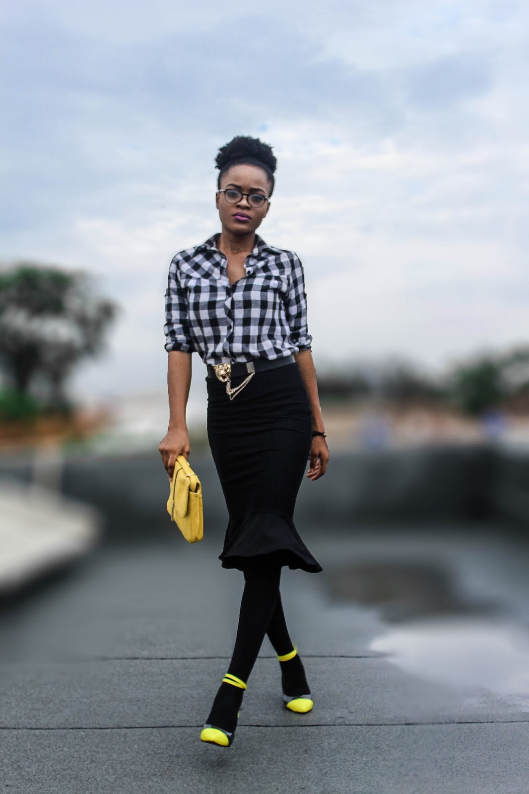 blaack and yellow formal wear inspiration