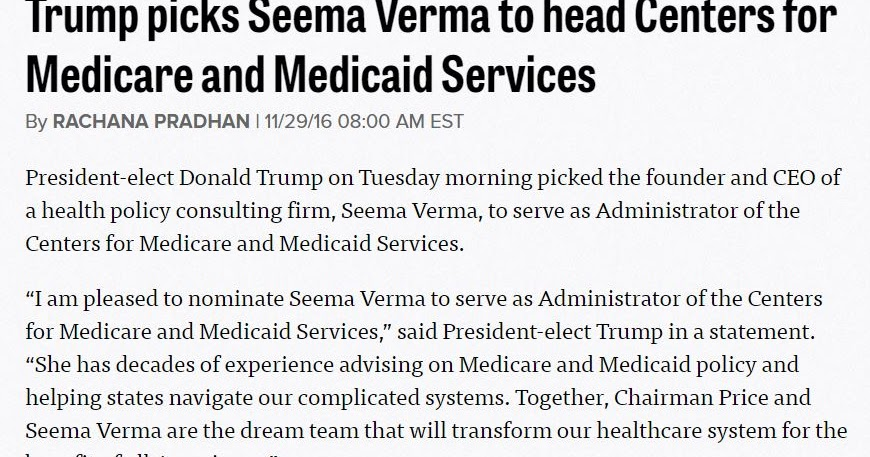 Discoveries in Health Policy: Seema Verma, Indiana Health