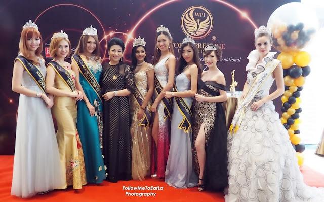 Miss & Mrs World Prestige International Pageant 2017 At New Shanghai Restaurant, Holiday Inn Express Kuala Lumpur