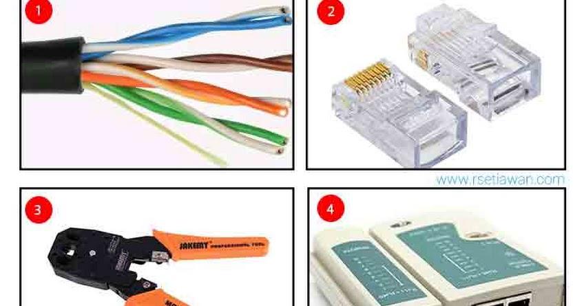 cara Membuat kabel LAN