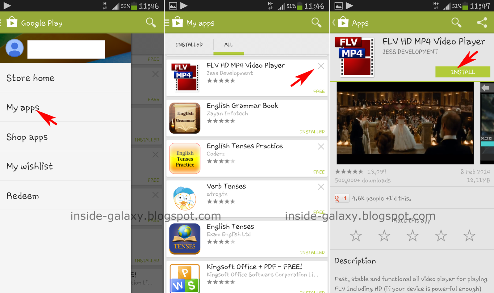 Samsung Galaxy S4: How to Reinstall Apps