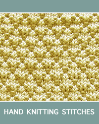 Learn Seersucker Knit Purl Patern with our easy to follow instructions at HandKnittingStitches.com