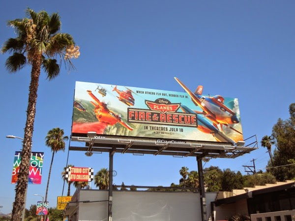 Disney Planes Fire and Rescue billboard