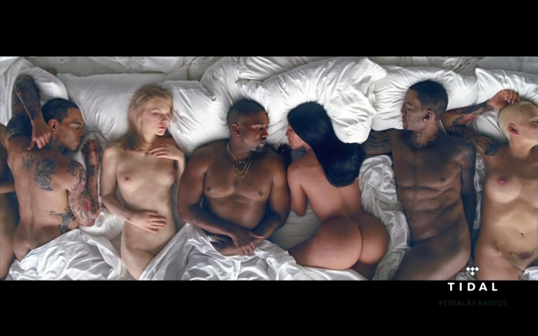 Kanye West Video Nude