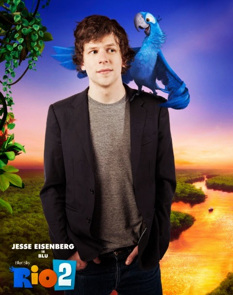 Jesse Eisenberg as Blu