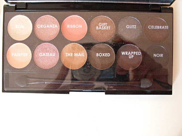 Sleek Eyeshadow Palette Review | Oh So Special